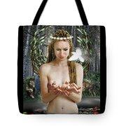 Danu Mother Goddess Tote Bag