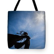 Daphne And Sun Tote Bag