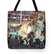 Dapled Pony Tote Bag