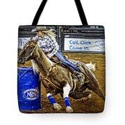 Dappled Barrelracer Tote Bag