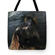 Dappled Horse In Stormy Light Tote Bag