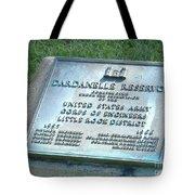 Dardanelle Plack Tote Bag