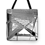 Dare Mighty Things Tote Bag