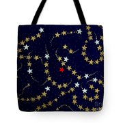 Dare To Be Different - Stars - Blazing Trails Tote Bag