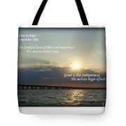 Dare To Hope Tote Bag