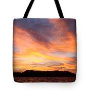 Darien Sunset Tote Bag