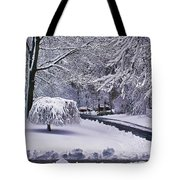 Dark And Light Tote Bag