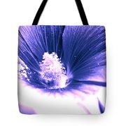 Dark Blue Mallow Tote Bag