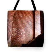 Dark Brick Passageway Tote Bag by Frank Romeo