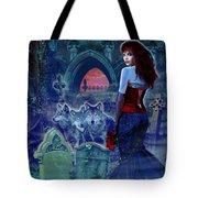 Dark Bride Tote Bag