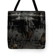 Dark Castle Tote Bag
