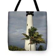 Dark Clouds Over Cape Florida Tote Bag