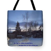 Dark Days And Friendship Tote Bag