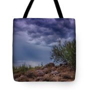 Dark Desert Skies  Tote Bag