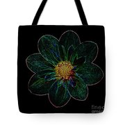 Dark Flower 2 Tote Bag