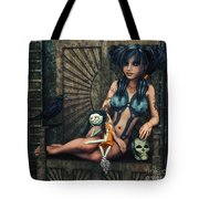 Dark Girl Tote Bag