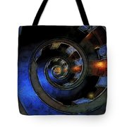 Dark Hallway Down Tote Bag
