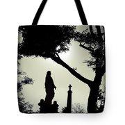 Dark Mysterious Light Tote Bag