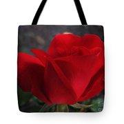 Dark Red Rose Tote Bag