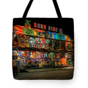 Dark Ride Tote Bag
