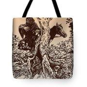 Dark Rider-tolkien Appreciation Tote Bag