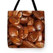 Dark Roasted Coffee Beans Tote Bag