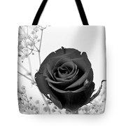 Dark Rose Sq Tote Bag