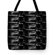 Dark Shade Crystal Stone Based Graphic Art Black Download Multipurpose Tote Bag