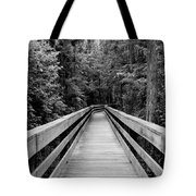 Dark Stroll Tote Bag