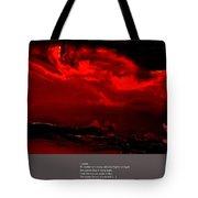 Darkest Hour Tote Bag