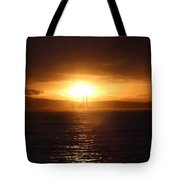 Darkness Follows Tote Bag