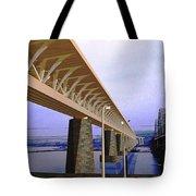 Darnitsky Bridge Tote Bag