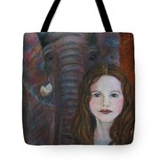 Darra  Little Angel Of                                    Feminine Wisdom And Understanding Tote Bag