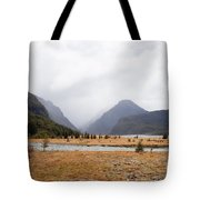 Dart River Valley Rain Clouds Mt Aspiring Np Nz Tote Bag