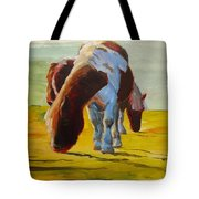 Dartmoor Ponies Tote Bag