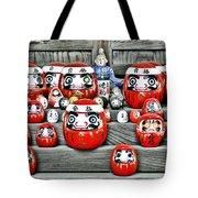 Daruma Dolls Tote Bag
