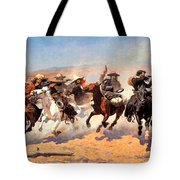 Dash For The Timber Tote Bag