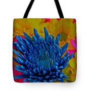 Dash Of Blue Tote Bag