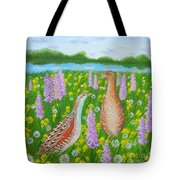 Dating When Orchids Blooming Tote Bag