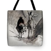 Daumier: Don Quixote Tote Bag