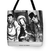 Daumier Omnibus, 1841 Tote Bag