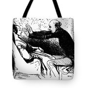 Daumier: The Hypnotist Tote Bag