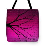 Dave Matthews Band Crush Lyric Art - Pink Tote Bag