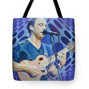 Dave Matthews-op Art Series Tote Bag