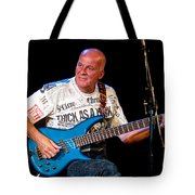 Dave Pegg Bass Player For Fairport Convention And Jethro Tull Tote Bag