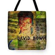David Bowie Tote Bag