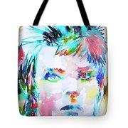 David Bowie - Watercolor Portrait.6 Tote Bag