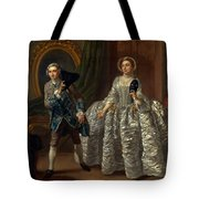 David Garrick And Mrs. Pritchard In Benjamin Hoadley's The Suspicious Husband  Tote Bag