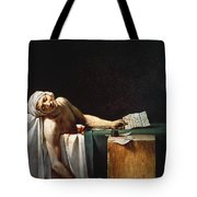 David: The Death Of Marat Tote Bag