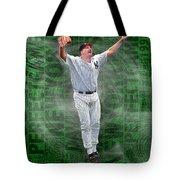 David Wells Yankees Perfect Game 1998 Tote Bag